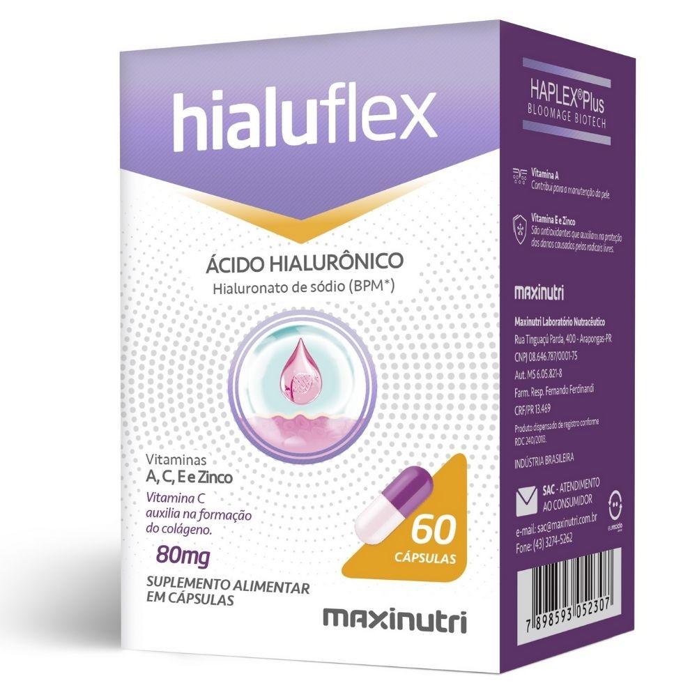 Hialuflex 80mg 60 Cápsulas Maxinutri