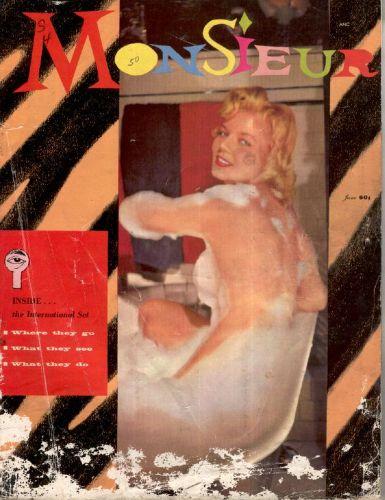 Cover: Monsieur Vol 01 No 02 Jun 1957