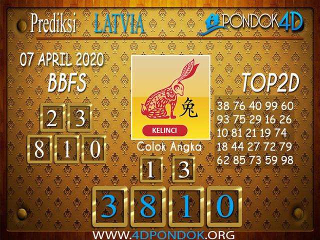 Prediksi Togel LATVIA POOLS PONDOK4D 07 APRIL 2020