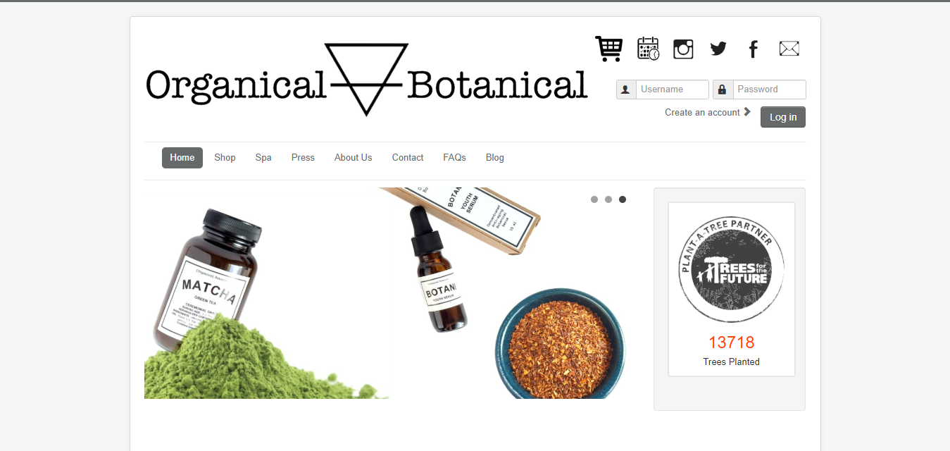 The Organical Botanical travel product recommended by Crystal Bui on Pretty Progressive.