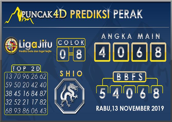 PREDIKSI TOGEL PERAK PUNCAK4D 13 NOVEMBER 2019