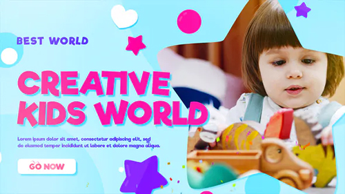 Happy Kids | Kids Opener 32232094 - Project for After Effects (Videohive)
