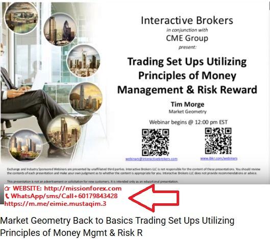 Market Geometry - Back to Basics -Trading Set Ups Utilizing Principles of Money Mgmt & Risk Reward