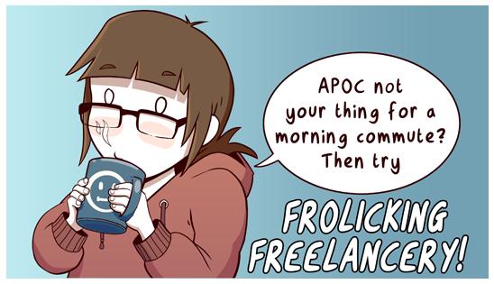 Frolicking Freelancery