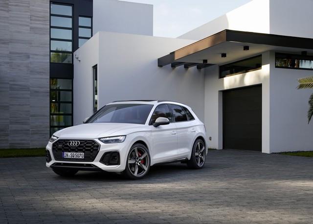 Sportivité, puissance et efficience : Audi présente la nouvelle génération de la SQ5 TDI A208359large