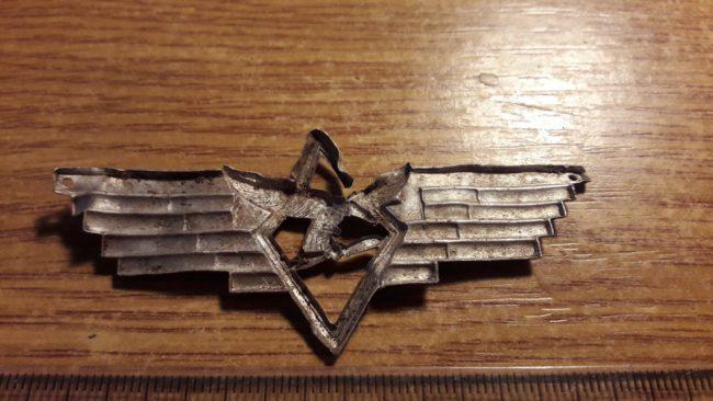 Rare Luftwaffe cockade. Photo by Apolon.