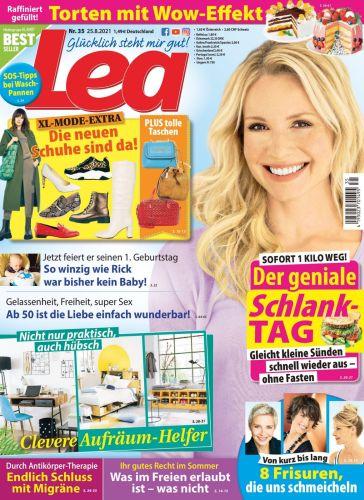 Cover: Lea Frauenmagazin No 35 vom 25  August 2021