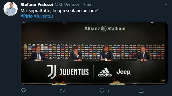 Ma, soprattutto, lo ripresentiamo ancora? Pirlo Juventus.