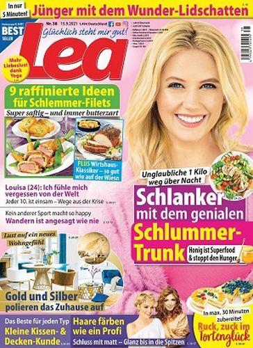 Cover: Lea Frauenmagazin No 38 vom 15  September 2021