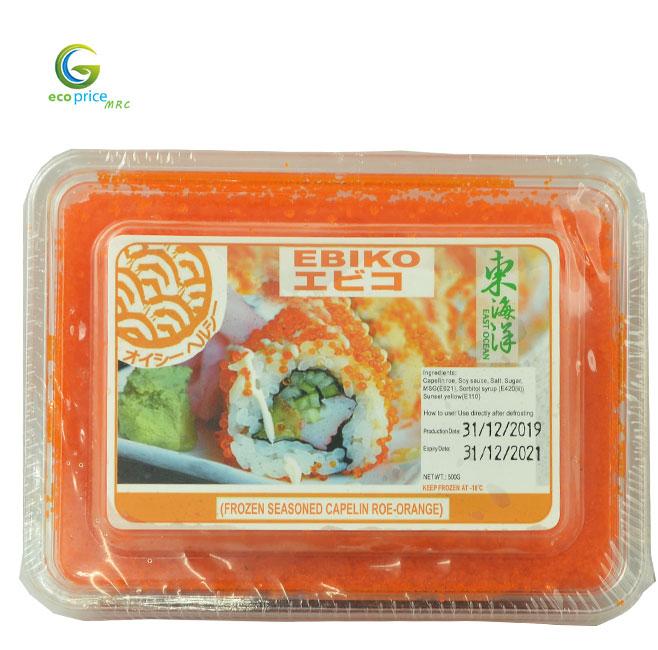 Trứng Cá Trứng Ebiko- Hộp- 500gr- GreenGood