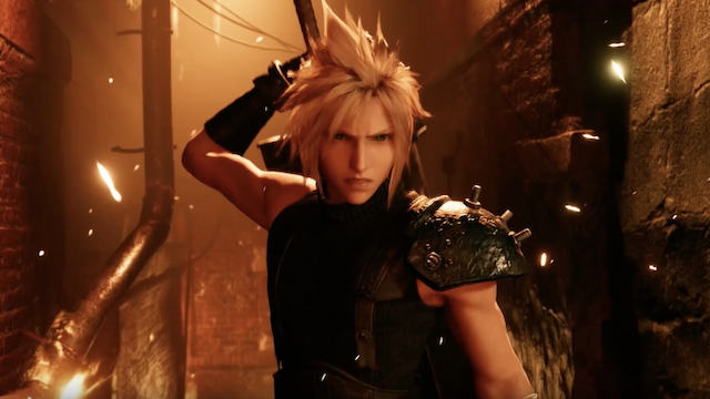 FINAL FANTASY VII REMAKE: Tetsuya Nomura Shares Brand-New Illustration Of Cloud Ahead Of The Game's Launch