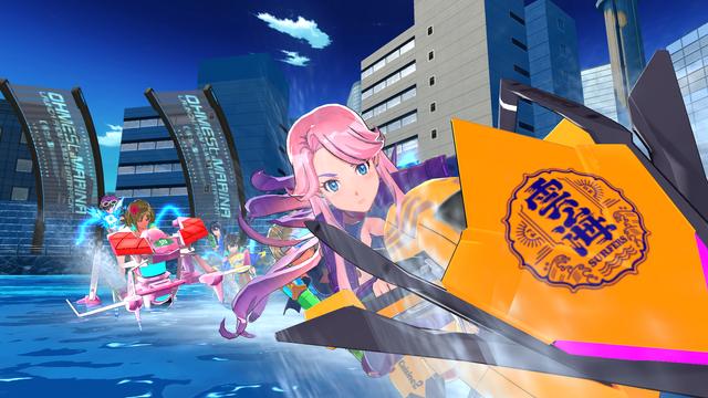 PlayStation®4『神田川JET GIRLS』今日發售! 可操控角色追加DLC也同步上市!  17