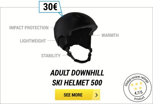 Ski helmet wedze 500