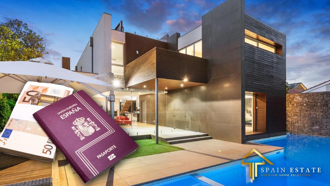 Spanje gouden visumprogramma. investering van € 500.000 in onroerend goed om gezinsverblijf in Spanje te verwerven. spanjeestate.com