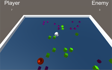 Roll-A-Ball gameplay image
