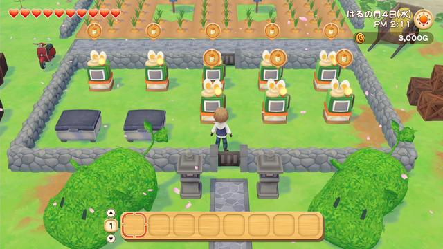 「牧場物語」系列首次在Nintendo SwitchTM平台推出全新製作的作品!  『牧場物語 橄欖鎮與希望的大地』 於今日2月25日(四)發售 023