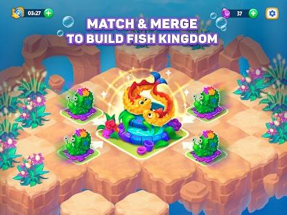 Sea Merge Fish Games in Aquarium & Ocean Puzzle 6