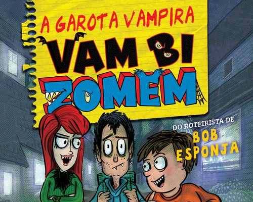 """@FaroEditorial lança segundo volume da trilogia """"Mordidas na escola"""" do roteirista de Bob Esponja"""