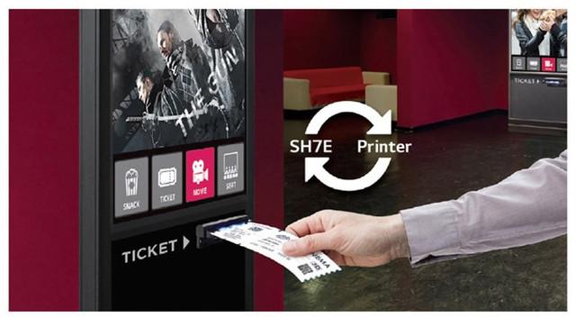 Compatibila cu imprimanta termala Monitor LG