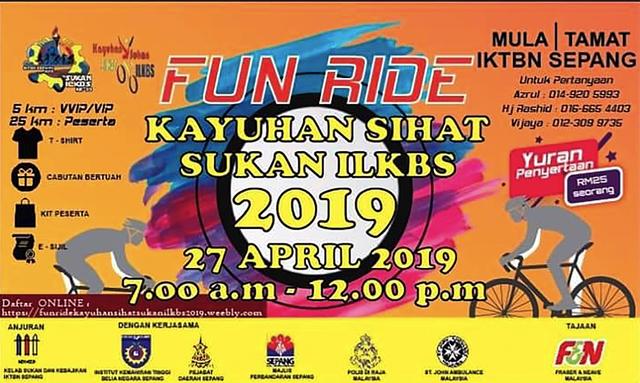 Fun-Ride-Kayuhan-Sihat-Sukan-ILKBS-SEPANG-2019