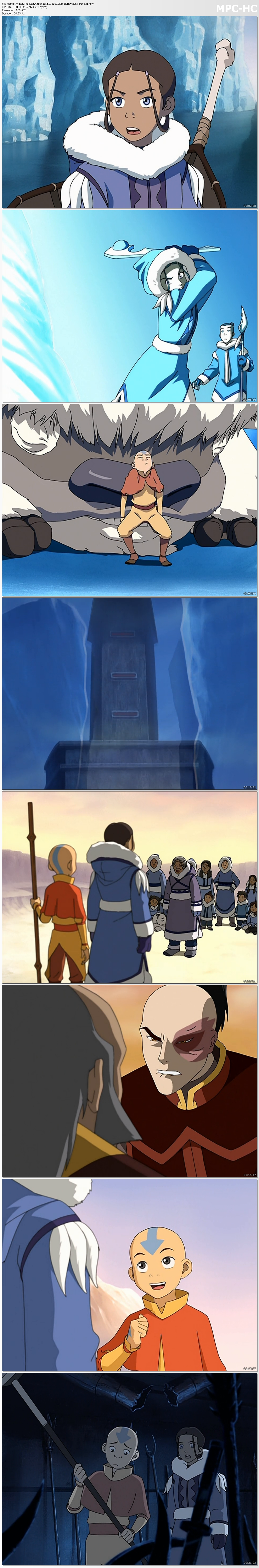 Avatar: The Last Airbender Season 1-3 Complete BluRay 720p