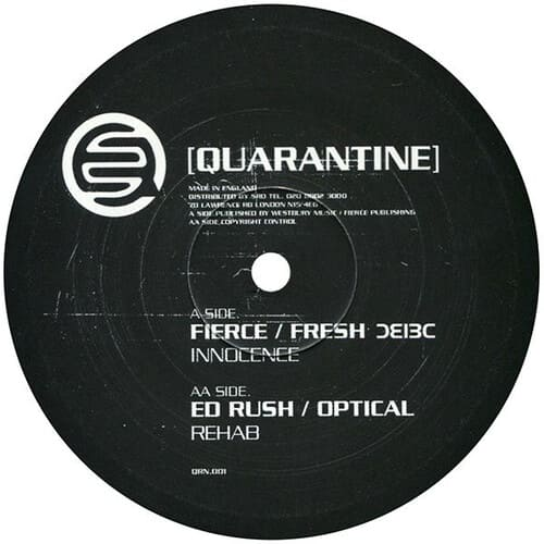 Fierce & Fresh / Ed Rush & Optical - Innocence / Rehab