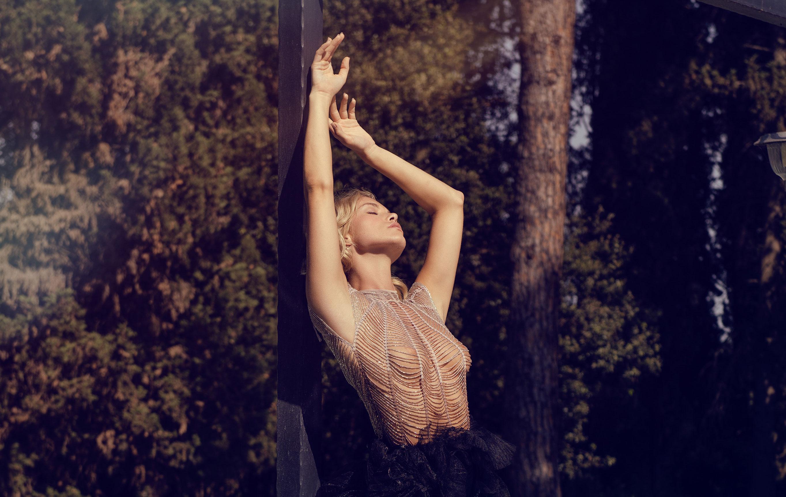 Виктория Яровая отдыхает на природе / фото 13