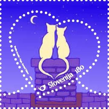 Slovenia stamps GREETING-STAMP-2