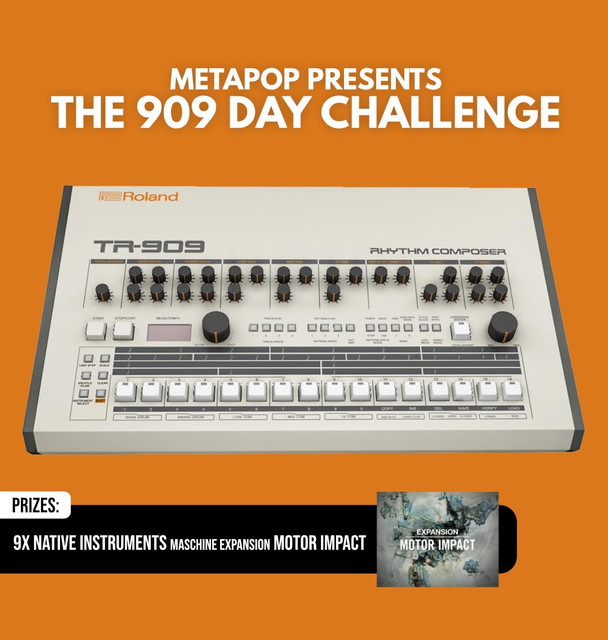 The 909 Day Challenge by Metapop