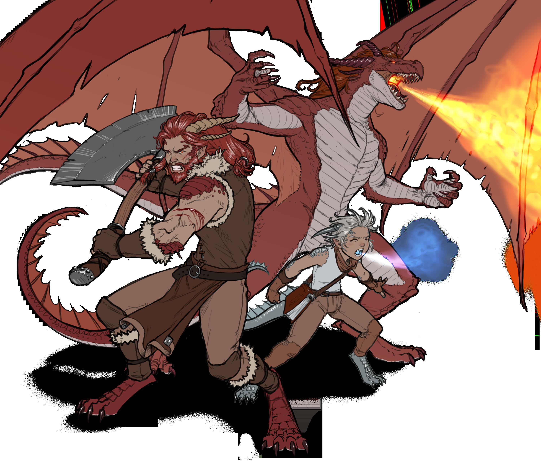 Half Dragon Dmsguild Gm Binder