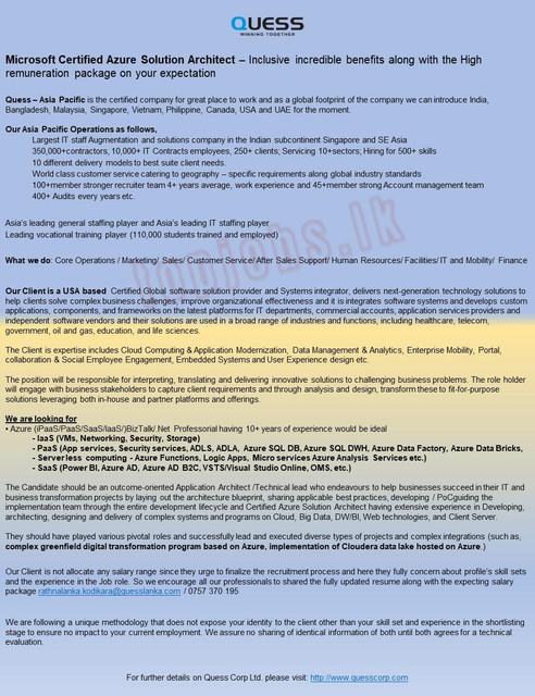 6115c-Microsoft-Certified-Azure-Solution-Architect