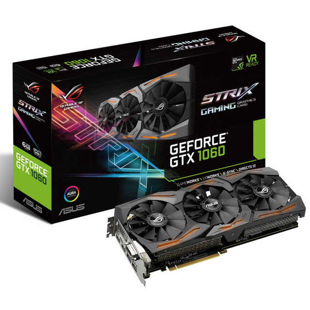 asus geforce gtx 1060 rog strix gaming 6gb gddr5 tarjeta grafica 001