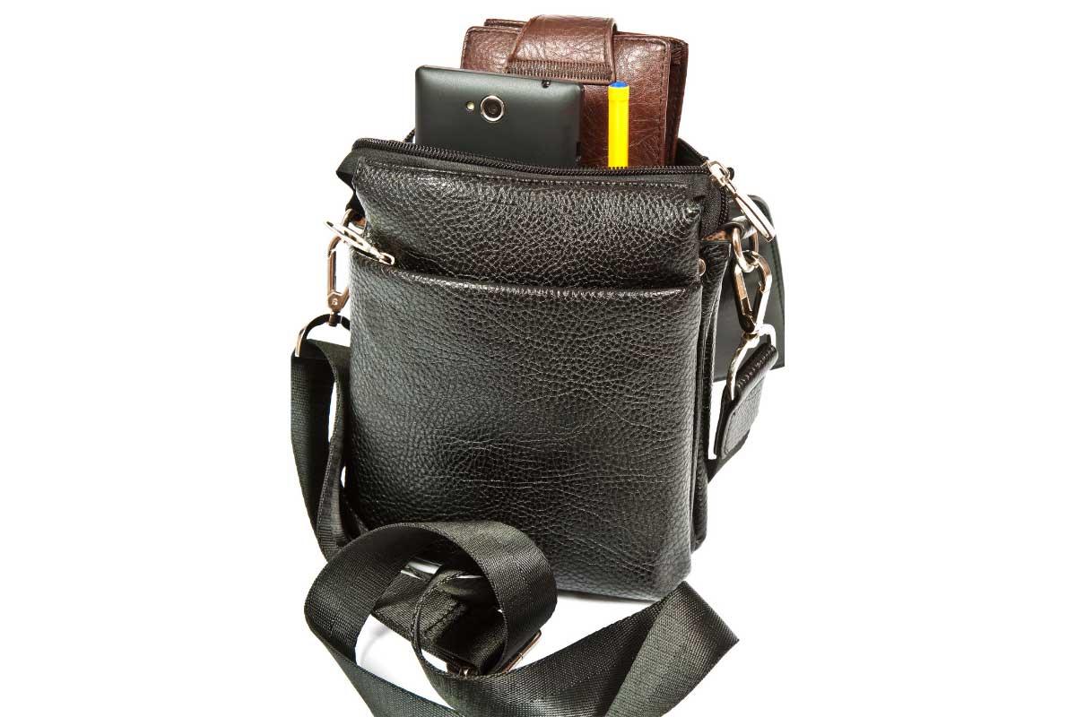 Деловые кожаные мужские сумки