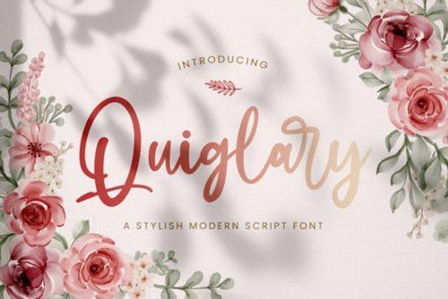 Quiglary Font