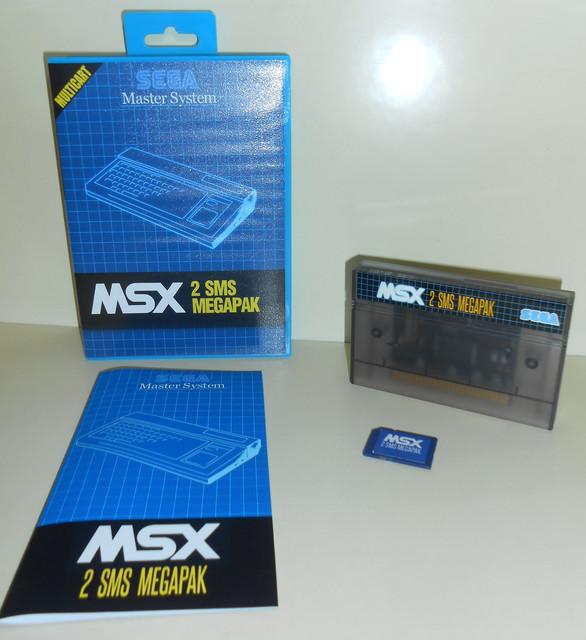 """MSX2SMS Compilation 500in1 """"Commandes ouvertes!!"""" MSX2-SMS-Megapack"""