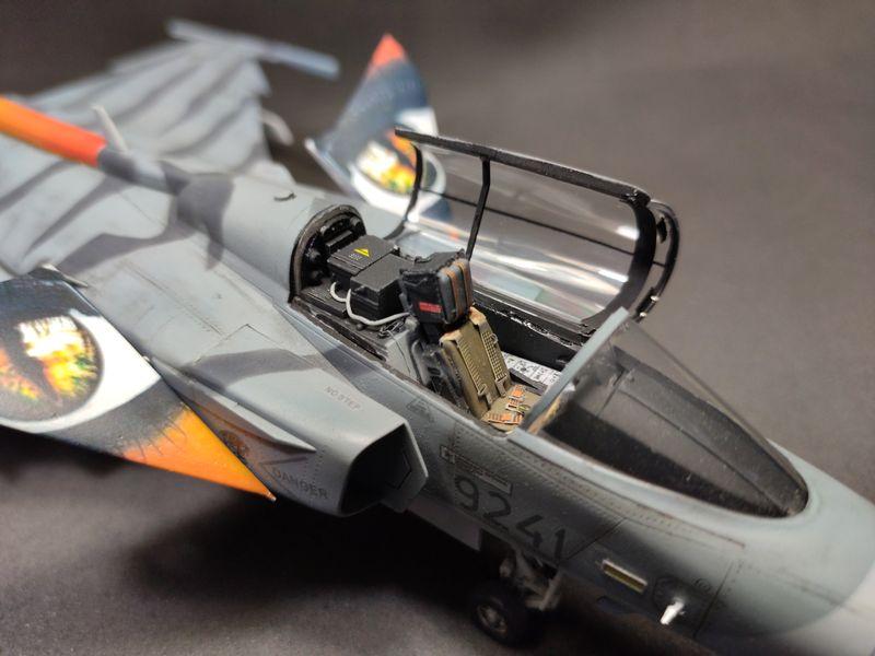 """MT: Jas-39C Gripen """"Wild Tiger"""" NTM 2017 Kitty Hawk 1/48 IMG-20200209-195002"""