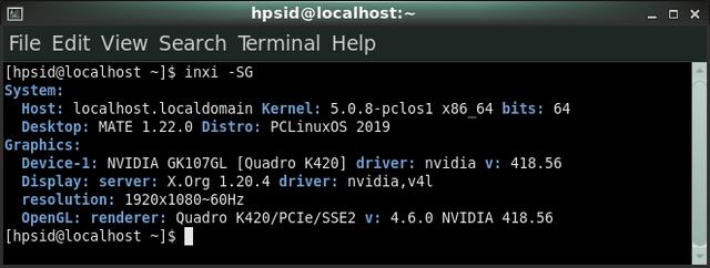 nvidia quadro k420 driver linux
