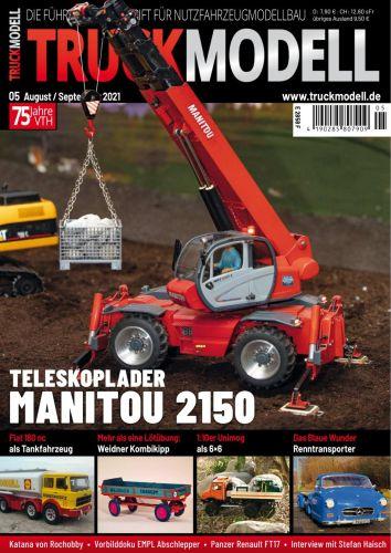 Cover: Truckmodell Modellbaumagazin No 05 2021