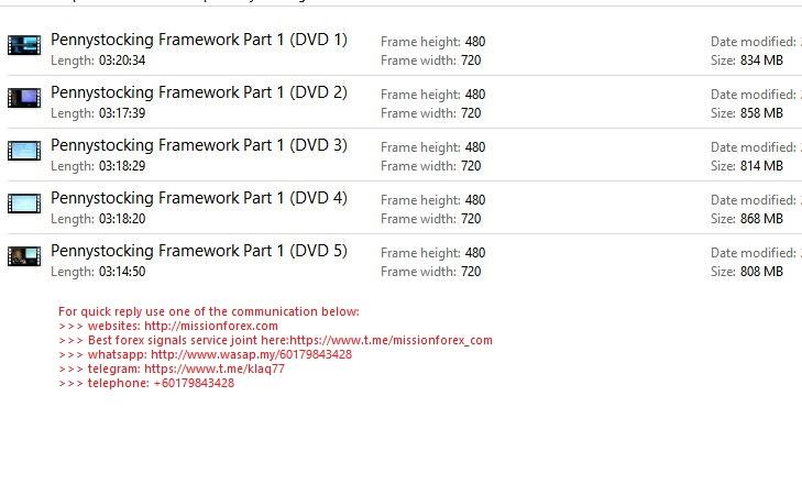 7 steps Pennystocking Framework