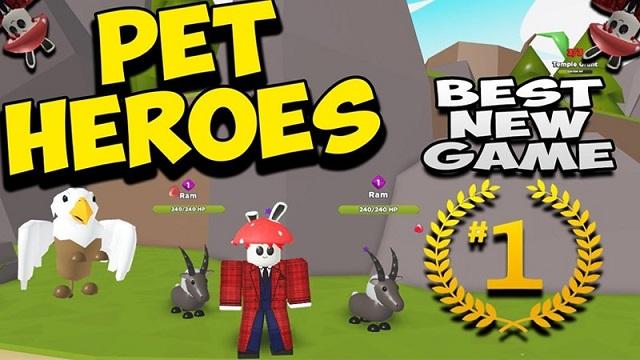 Dapatkan Code Pet Heroes Roblox Simulator Terbaru Disini Tempatnya!