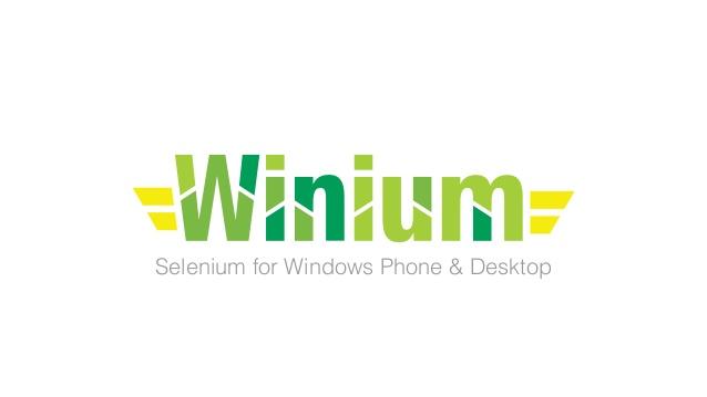 Winium logotipo ofificial, visto en Ciberninjas