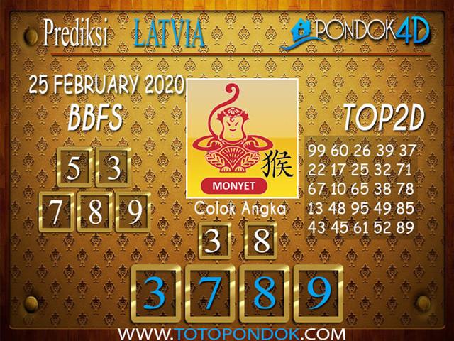 Prediksi Togel LATVIA POOLS PONDOK4D 25 FEBRUARY 2020