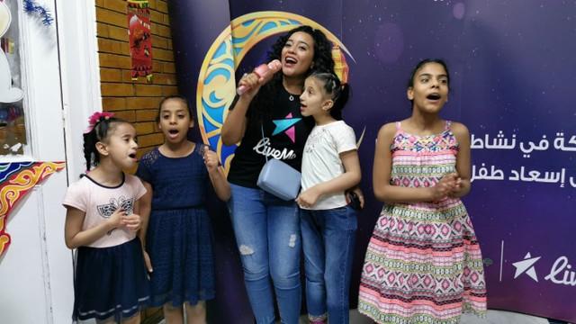 لايف مي تحتفل مع الايتام في مصر باليوم العالمي للطفل