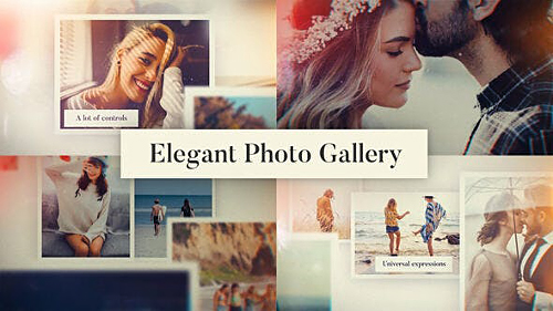 Elegant Photo Gallery 25910207 - Project for After Effects (Videohive)