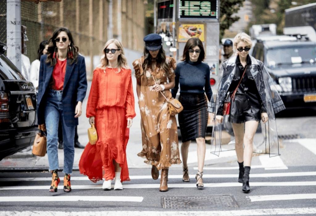 Mixing Fashion Around World