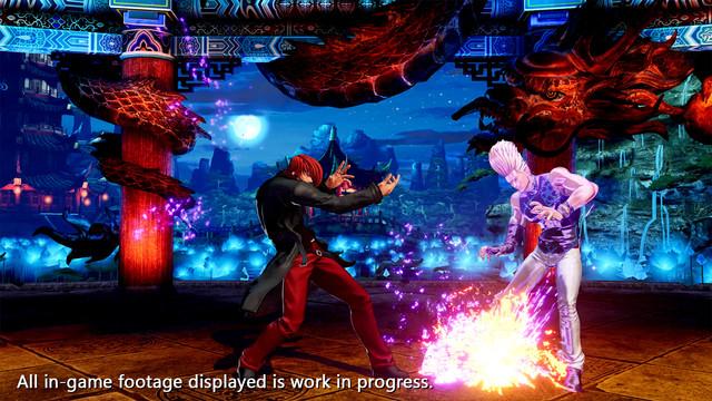 格鬥之王XV Iori Yagami預告片,截圖 The-King-of-Fighters-XV-2021-02-03-21-002