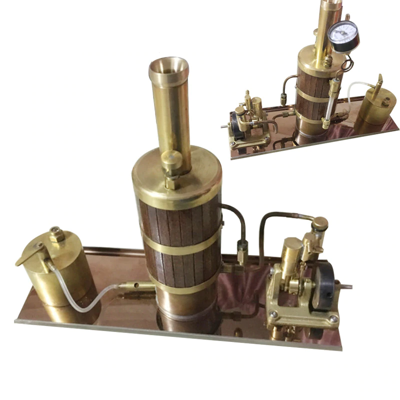 New-Model-Boiler-Marine-Steam-Engine-Kit-Gift-1