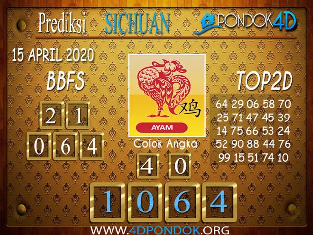 Prediksi Togel SICHUAN PONDOK4D 15 APRIL 2020