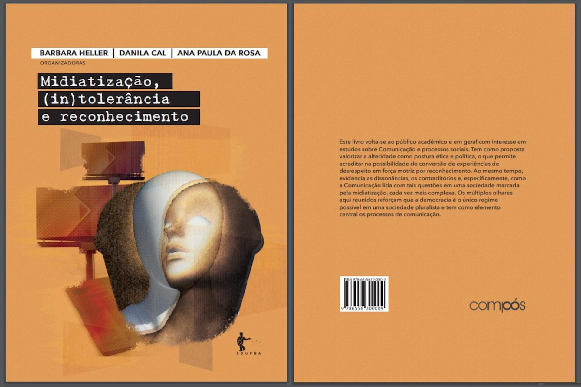 Compós publica livro sobre midiatização, intolerância e reconhecimento com capítulo de professor do PPGCOM