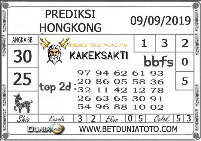 "Prediksi Togel ""HONGKONG"" DUNIA4D 09 SEPTEMBER 2019"